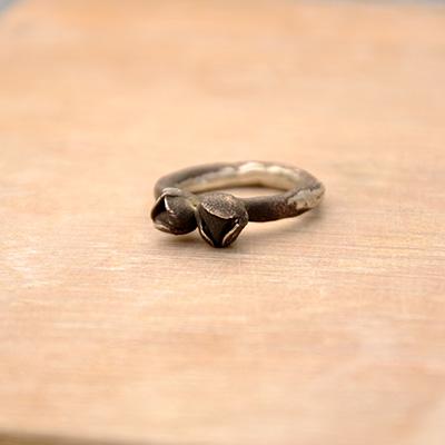 Knospenring schwarz